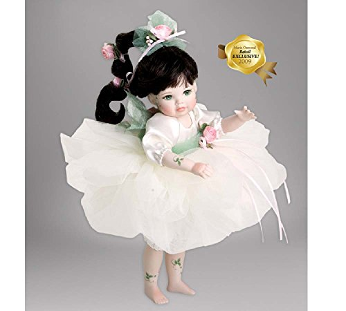 Marie Osmond Ophelia Fairy Rosebud 8' Standing Porcelain LE300