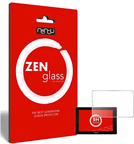 ZenGlass Flexible Glas-Folie kompatibel mit Medion Lifetab P10356 Panzerfolie I Bildschirm-Schutzfolie 9H