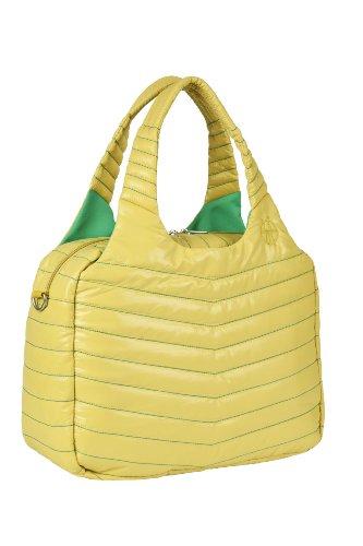 Lässig Glam Global Bag POP Wickeltasche/Babytasche inkl. Wickelzubehör, lime