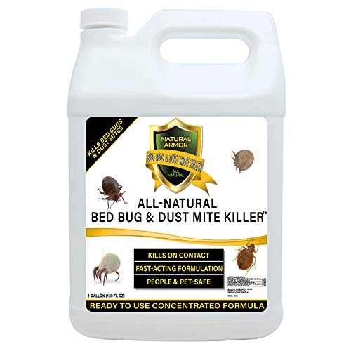 Bed Bug & Dust Mite Killer Natural Spray Treatment for...