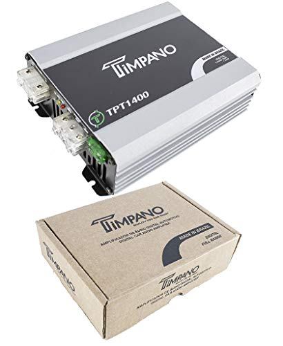 Timpano TPT-1400 1 Ohm 1400 Watts Full Range Car Audio Amplifier Class D Amp