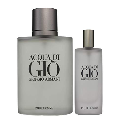 Armani Acqua Gio Homme Edt Vapo 100 + Vp Travel 100 ml