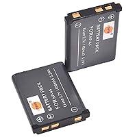 DSTE® アクセサリ Fujifilm NP-45 KLIC-7006 EN-EL10 D-LI63 互換 カメラ バッテリー 2個 対応機種 FinePix  J100 J120 JV200 JZ100 JZ300 L55 T500 XP20 Z300