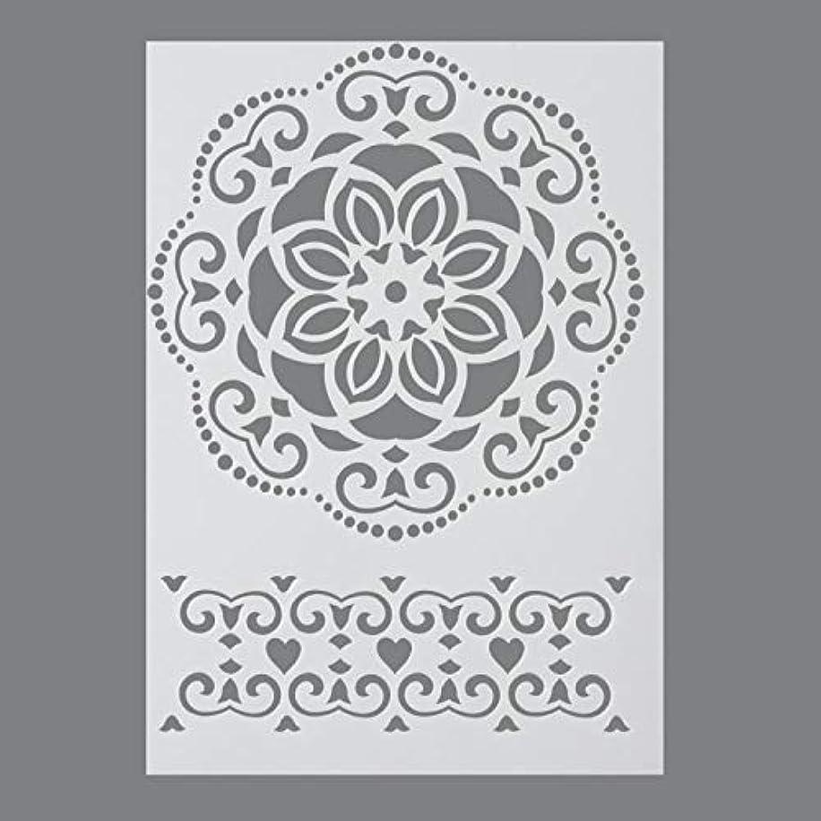 Efco Stencil Ornament / 1 Design DIN A 4, 30 x 21 x 1 cm