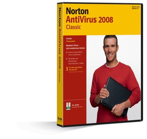 Norton AntiVirus 2008 Classic [Import allemand]