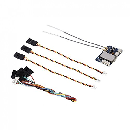 chiwanji FS X6B 6CH Two Way PPM PWM I Bus 2A System Receiver for AFHDS RC Drone