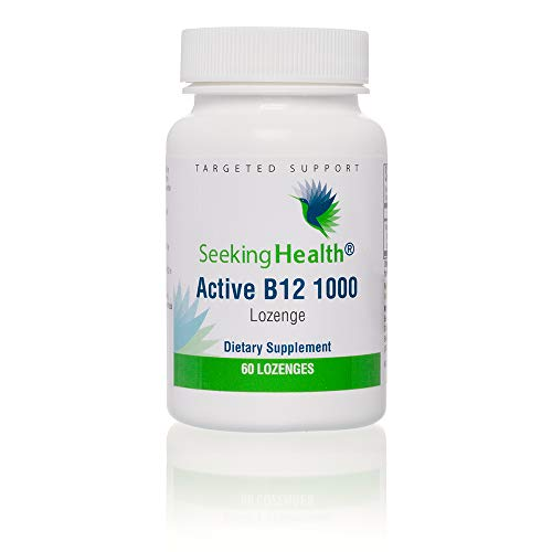 Active B12 1000-60 Lozenges - 1000 mcg (as Adenosylcobalamin and Methylcobalamin) - Seeking Health