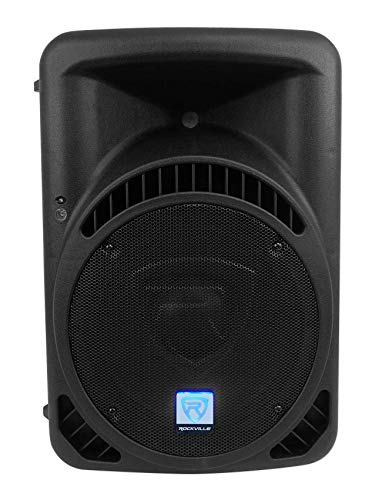 "Rockville RPG12BT V2 12"" Powered 800W DJ PA Speaker Bluetooth/Wireless/Remote/EQ"