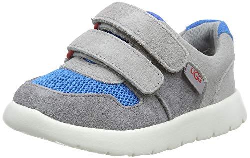 UGG Unisex-Kinder Tygo Sneaker Schuh, GRAUES Multi, 25 EU