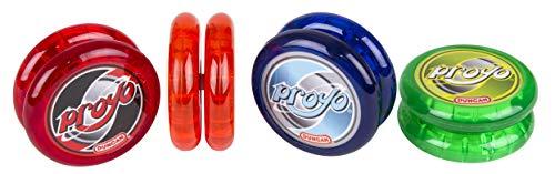 Duncan Toys ProYo Looper Yo-Yo, Beginner Yo-Yo with String, Wooden Axle and Plastic Body, Colors May...