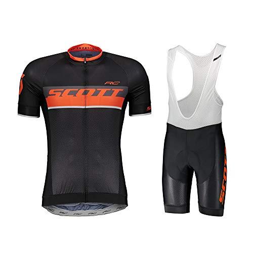 Ropa Ciclismo Verano para Hombre Maillot Ciclismo+Ciclismo Culote Bicicleta(Múltiples Colores)