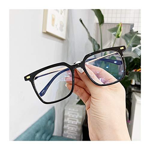 Ordenador Gafas 3 unids vwktuun gafas marco cuadrado Gafas de ojo Marcos para mujeres Hombres Metal Marco Myopia Gafas Marcos Anti Blue Ray Computer Globos De Lectura Gafas (Frame Color : 1)