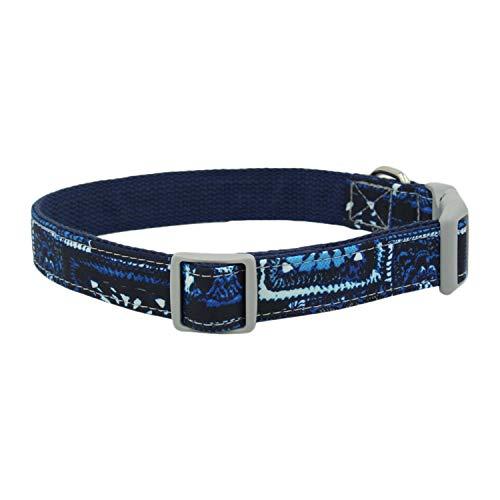 Mogzank Collar para Perros Collar Personalizado para Mascotas CóModo Collar para Mascotas Impreso para Perros PequeeOs Medianos Grandes Pitbull Pug S