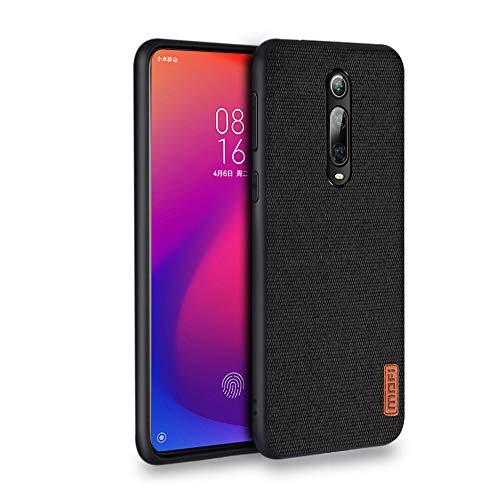 MOFI莫凡 Mofi Funda para Xiaomi 9T, Xiaomi Mi 9T Pro Case Suave Caucho Premium ManSensación Cubierta a prueba de golpes Antideslizante Bumper Funda para Xiaomi 9T / Xiaomi 9T Pro/Redmi K20 - Negro