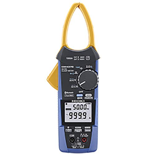 Hioki CM4376 AC/DC True-RMS Clamp Meter, 1000A with Innovative Jaw for Remarkable Accessibility, Built in Bluetooth