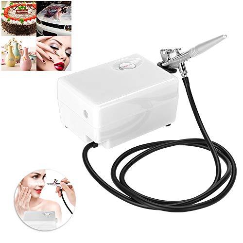 Dispositivo de Pulverizador de Inyección de Agua y Oxígeno con Pistola Pulverizadora y 3 Accesorios, Máquina de Rociador de Belleza para Spa de belleza y Cuidado de la piel(02)