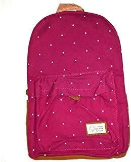 Sbc School Backpack for Girls, Pink, Normal Size