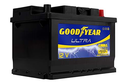 Goodyear GODF260 Bateria de coche Ultra 12V 60Ah 550A +D, 500A