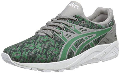 ASICS Gel-Kayano Trainer Evo, Unisex-Erwachsene Sneakers, Grün (Green/Green 8484), 41.5 EU