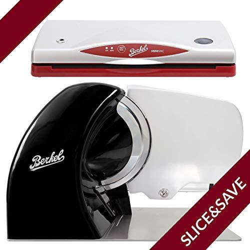 Berkel - Allesschneider Home line 250 + Minivac - The Berkel System (Schwarz)