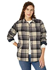 Relaxed fit 5.5-Ounce, 97% Cotton/3% Spandex flannel with 4.3-Ounce, 100% polyester fleece lining in body and sleeves Garment washed for a soft finish and reduced shrinkage Button front Two chest pockets special size type: standard sleeve type: Long ...