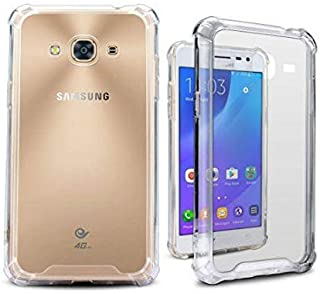 Galaxy A5 Case, Galaxy A5 Clear Case, Silverback Premium Shock Absorption TPU Bumper Cushion - Scratch Resistant Clear Protective Cases Hard Cover for Samsung Galaxy A5 2016 -Clear