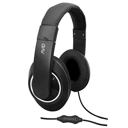 Best Prices! Avid Products AE-9092 Headset with Built In Microphone Black