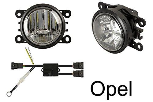 LED Tagfahrlicht + LED Nebelscheinwerfer (nur passend für Fahrzeuge mit bereits vorhandenen Nebelscheinwerfern)~