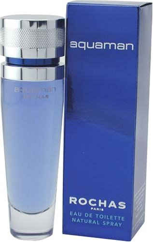 Rochas Aquaman para hombres Eau De Toilette 50ml