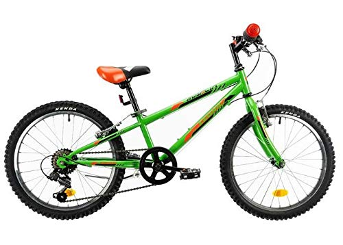Marlin Cedric Hardtail Mountain Bike 20 pollici 24 cm ragazzi 6G freno a cerchione verde