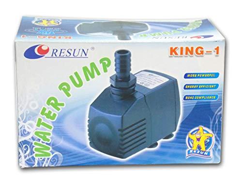 RESUN KING-1 Förderpumpe Kreiselpumpe Wasserpumpe Filterpumpe Pumpe 380 L/H