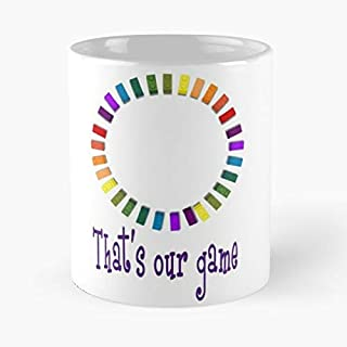 That's Our Game Shirt Classic Mug - The Funny Coffee Mugs For Halloween, Holiday, Christmas Party Decoration 11 Ounce White Leinstudio.