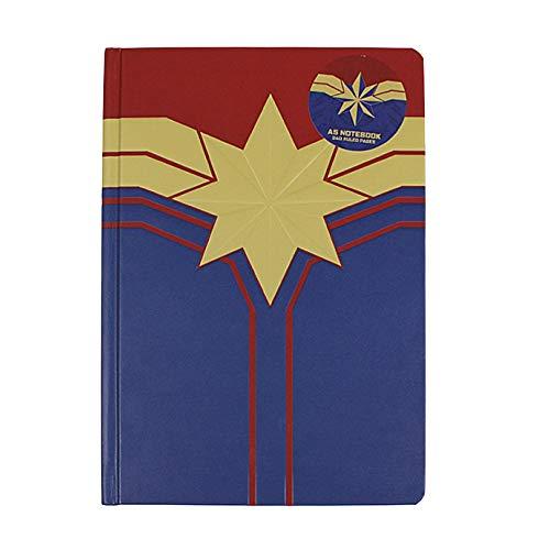 Echte Marvel-Comics Captain Marvel A5 Notizbuch für Notizbuch