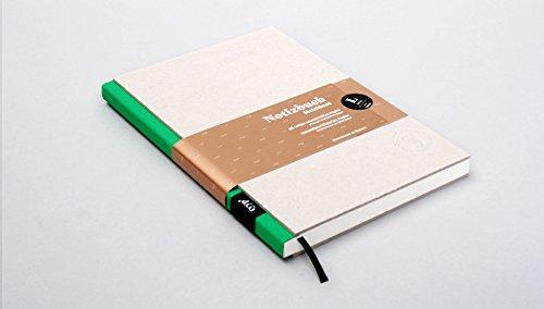 Notizbuch A5, Steifbroschur, BerlinBook L/Grau