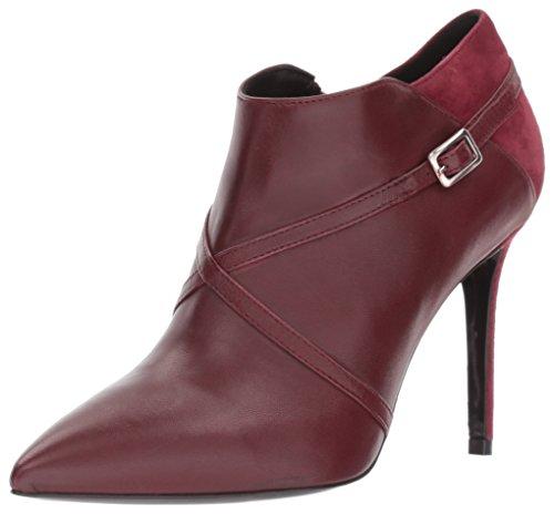 Charles David Women's Laura Ankle Boot, Burgundy, 39.5 Medium EU (9,9.5,10,10.5 US)