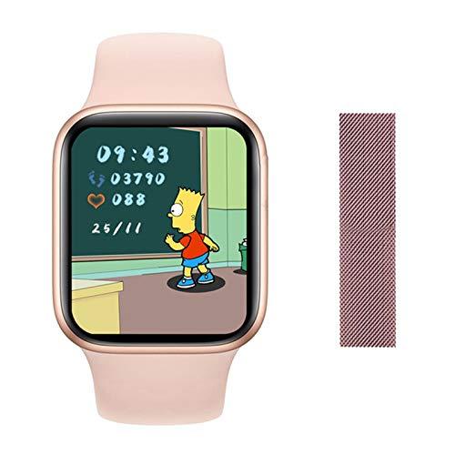 QAK DW35 Smart Watch 2021 1.75 Pulgadas Pantalla Cuadrada 44Mm Bluetooth Llame A Las Señoras Reloj para Hombre para Android iOS,N