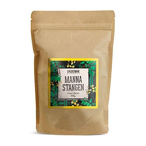 Valdemar Manufaktur Premium MANNA-Stangen 100g (Cassia fistulae) - HANDVERPACKT In Deutschland