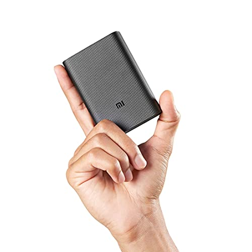 Mi Pocket Power Bank Pro Black 10000mAh | Triple Output and Dual Input Port | 22.5W Ultra Fast Charging | Power Delivery
