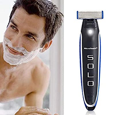 Micro Touch Solo Men's Electric Razor Groomer Rechargeable Trimmer Men Gift by PlatiniumTech