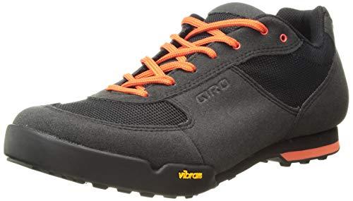 Giro Rumble VR MTB, Zapatos de Bicicleta de montaña Hombre, Multicolor (Black/Glowing Red 000), 48 EU