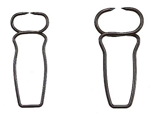 Gehrungs- Stahlklammern für Leistenbreite 10 - 15 mm Verpackungseinheit 10 Stück