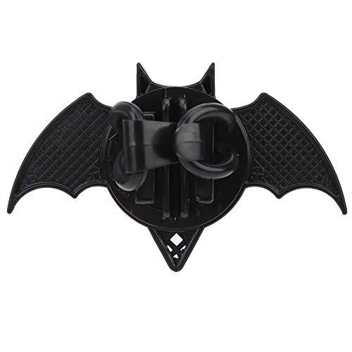 Voluxe Lámpara Decorativa para Scooter de Equilibrio, luz Decorativa para Bicicleta, 2 Piezas para Ruedas de radios, Ruedas integradas(Bat Red)