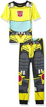 Transformers Boys  Snug Fit Cotton Pajamas Bumblebee Uniform 10