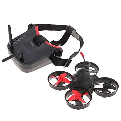 NON Sharplace Kids Indoor RC Drone 5.8G 800TVL Cámara Cepillada Quadcopter con Gafas FPV
