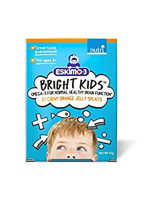 Eskimo-3 Bright Kids 27 Chewy Orange Jelly Splats