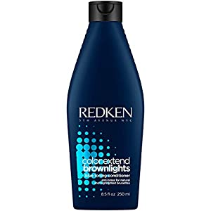 REDKEN | Color Extend Brownlights | Blue Toning & Anti-Brass Protection Conditioner | For Natural & Color-Treated Brunettes | 250ml