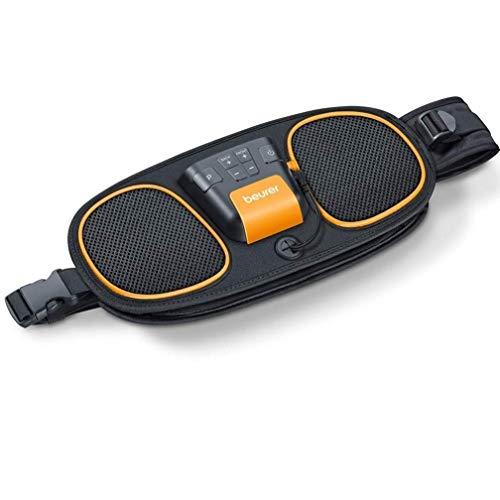 Beurer EM39 2-in-1 Abdominal and Back Muscle Toning Belt | EMS training defines and strengthens muscles | 5 pre-set training programmes | Adjustable intensity | Adjustable fit for waists 75cm - 130cm