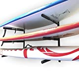 EasyGoProducts EGP-SURF-006 Wall-3 Level, SUP Easy Storage Garage-Mount for Paddle Board Racks and Longboard, None