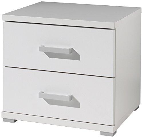 Vipack mina2214Milano comodino pannelli bianco 50x 41,3x 45,2cm