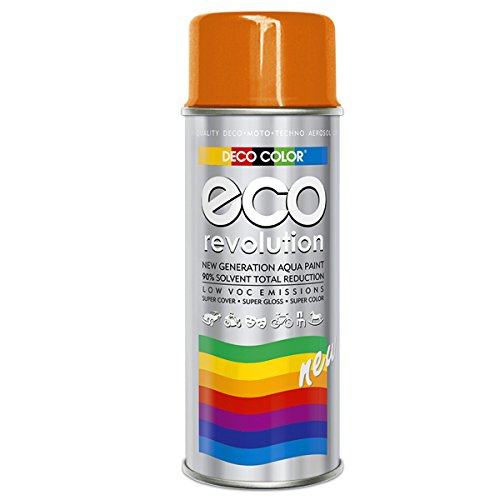 Fahrzeugteile Hoffmann DC ECO Lackspray glänzend matt 400ml nach RAL freie Farbauswahl (Orange Glanz RAL 2004)